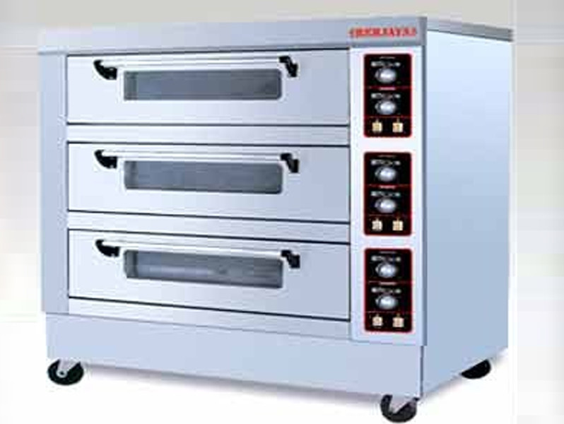 bakery deck oven gas fully automatic imported berjaya brand