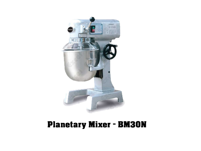 Imported bakery equipments Berjaya Malaysia Planetary mixer bm30n machine mixing cake beater excel bakery equipment india