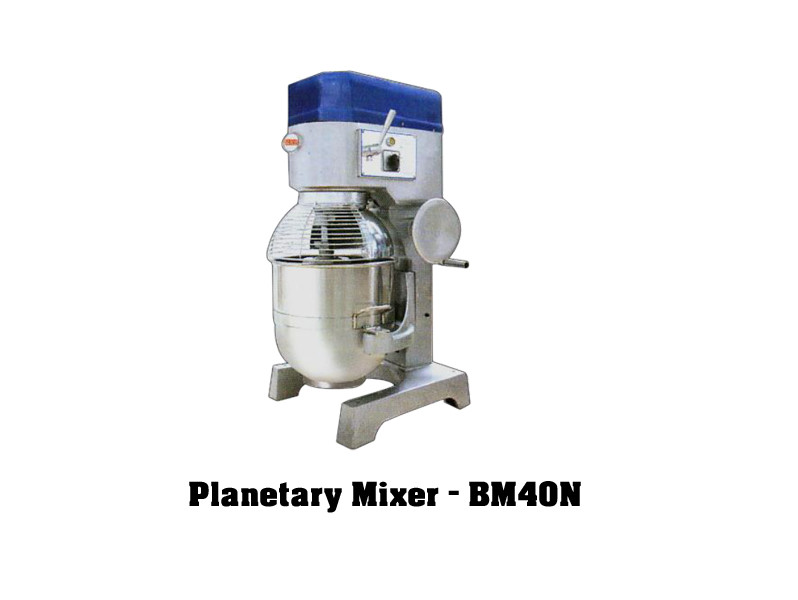 Imported bakery equipments Berjaya Malaysia Planetary mixer bm40n machine mixing cake beater excel bakery equipment india