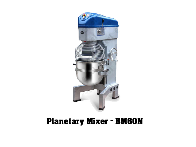 Imported bakery equipments Berjaya Malaysia Planetary mixer bm60n machine mixing cake beater excel bakery equipment india