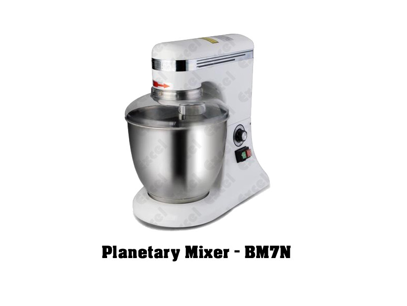 Imported bakery equipments Berjaya Malaysia Planetary mixer bm7n machine mixing cake beater excel bakery equipment india